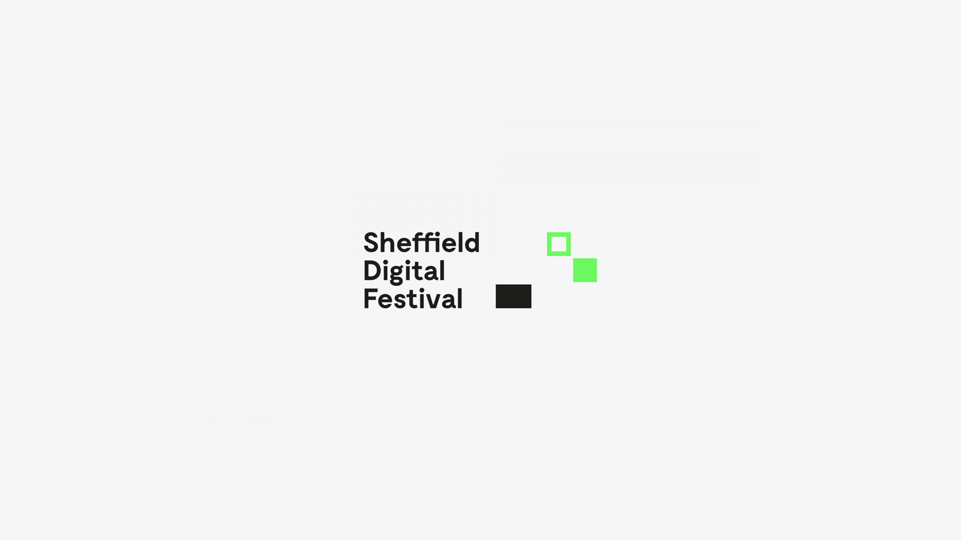 A Field Event - Sheffield Digital Festival