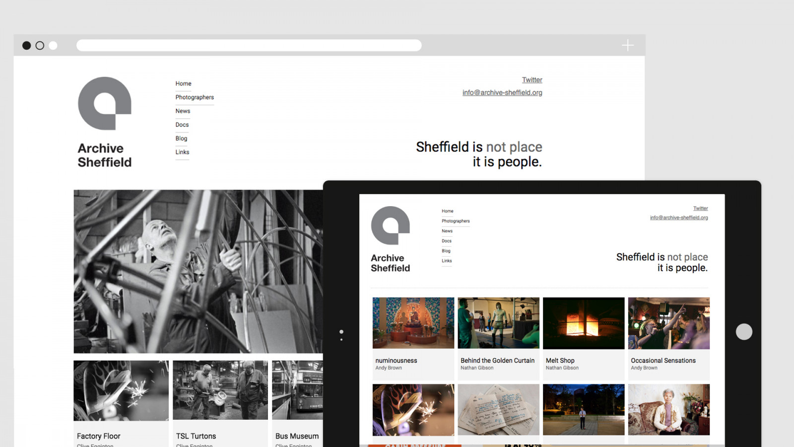 Archive Sheffield - Website -  image for Archive Sheffield project