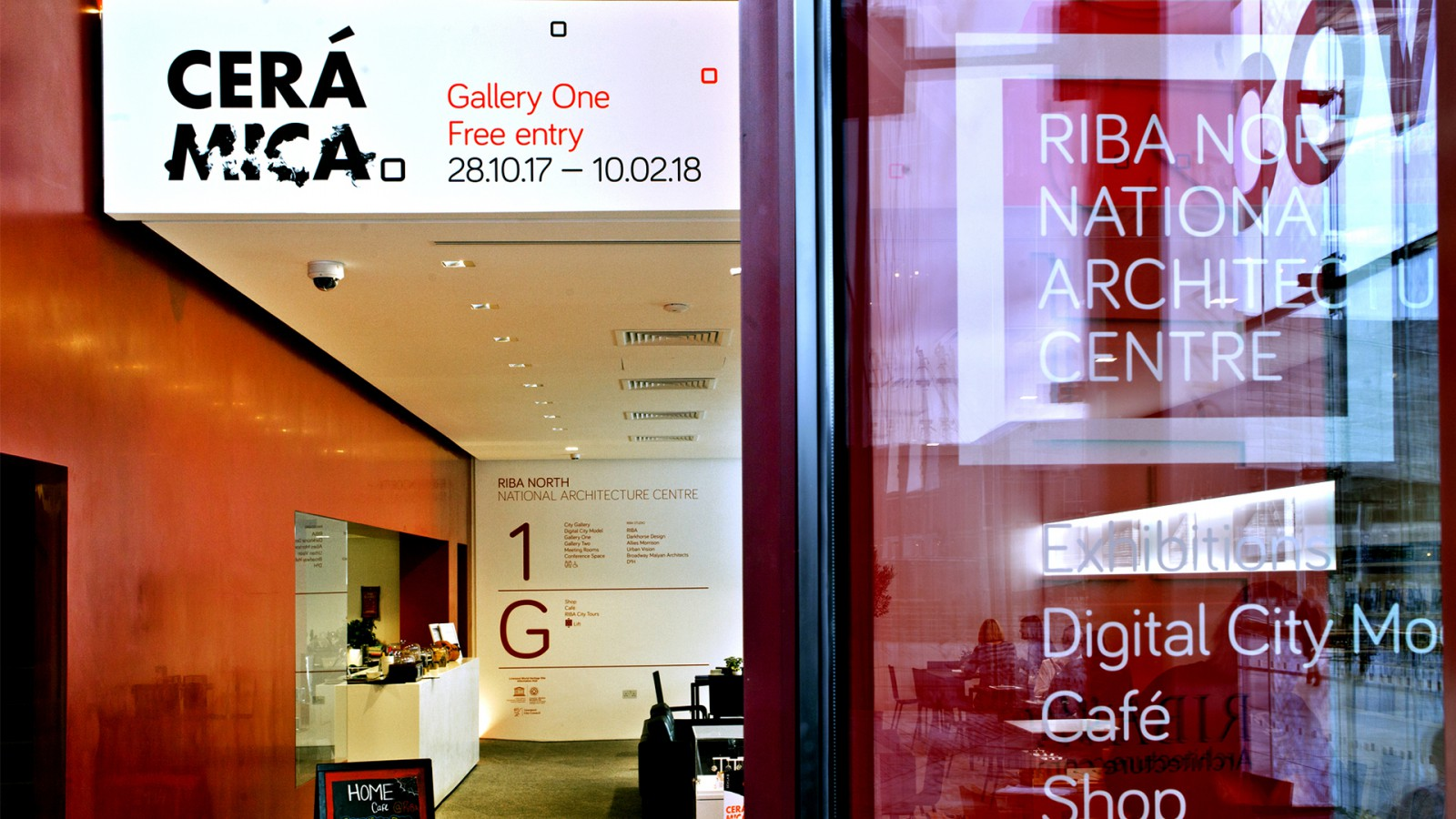 image for Cerámica Exhibition at RIBA North project