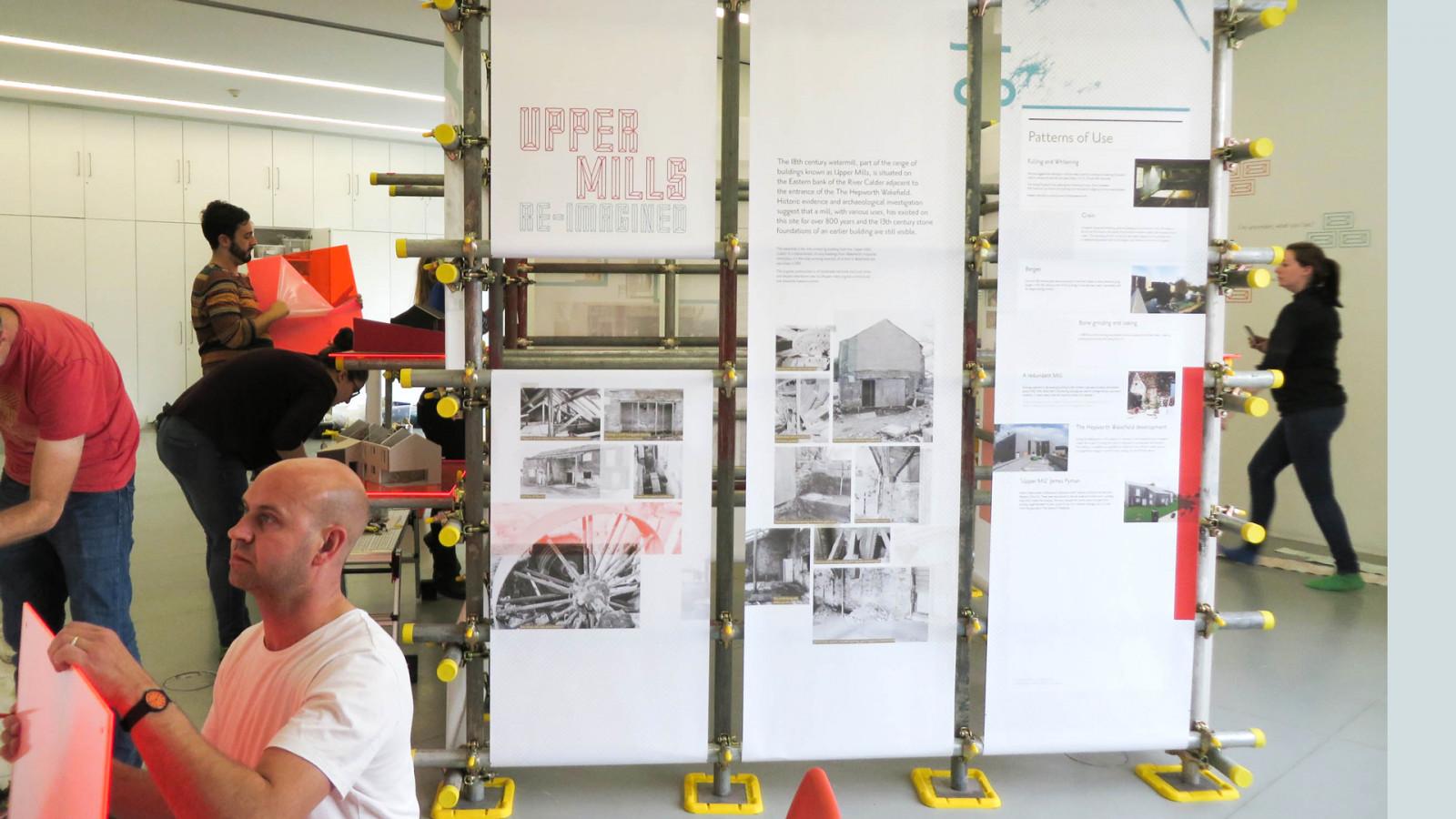 Upper Mills Project- Hepworth Gallery, Wakefield -  image for The Hepworth Gallery  project