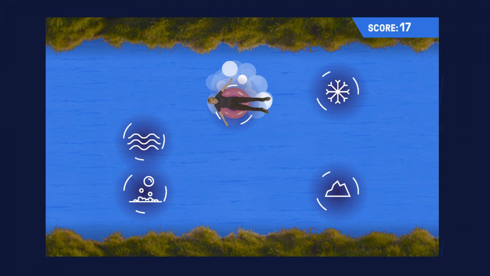 Royal Life Saving Society –game screenshot two, created in Unity -  image for Royal Life Saving Society project