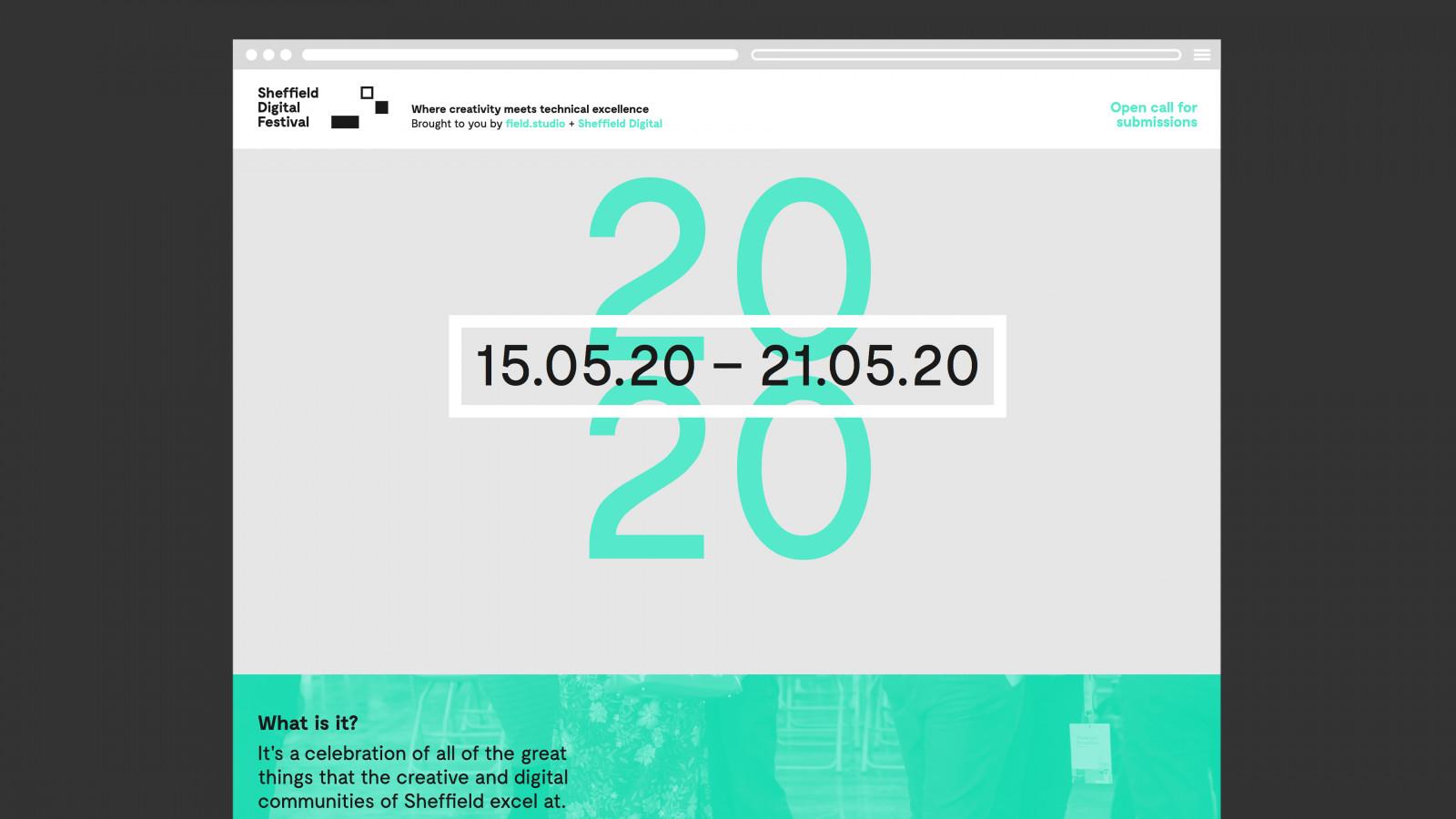 Sheffield Digital Festival 2020 Site Image -  image for Sheffield Digital Festival project