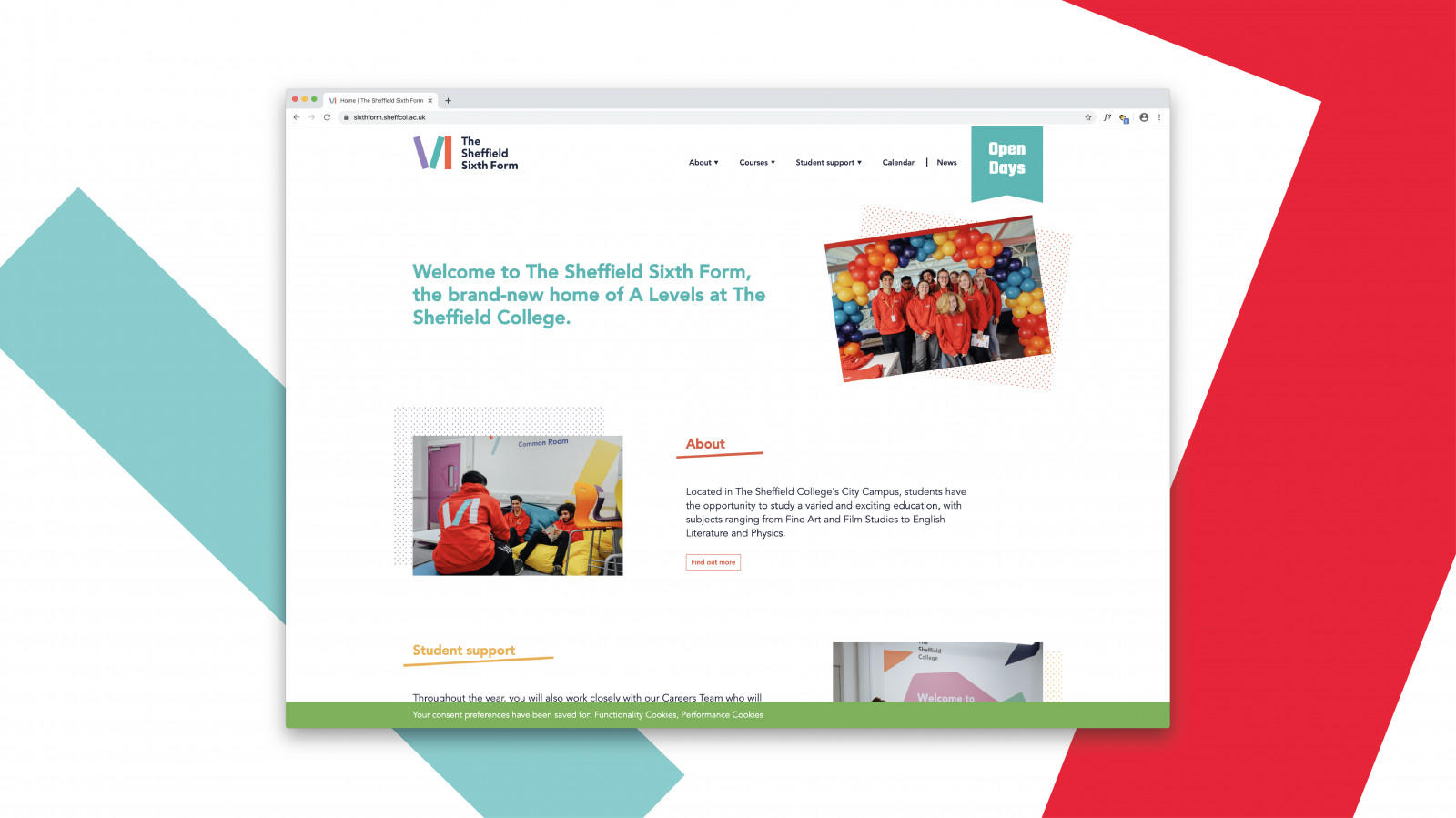 image for Sheffield College 6th Form Brand project