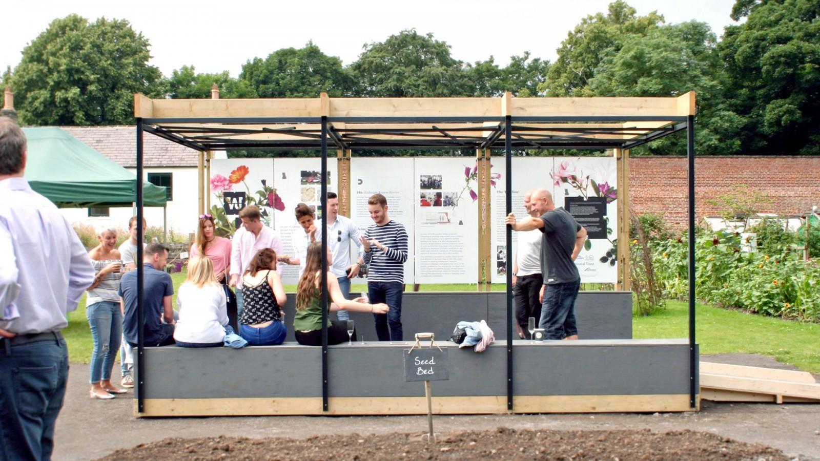 gibside pavillion 1 -  image for Gibside National Trust – Walled Garden project