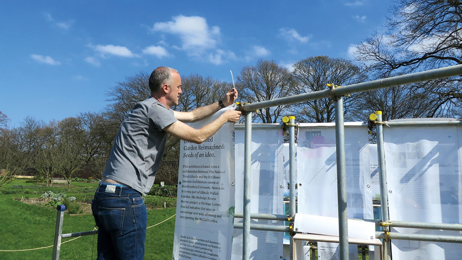 image for Gibside National Trust – Walled Garden project