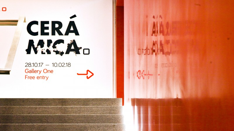 Ceramica Hero Graphic Stairwell